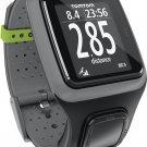 NEW TomTom Runner GPS Watch w/Heartrate Monitor Dark Gray Unisex