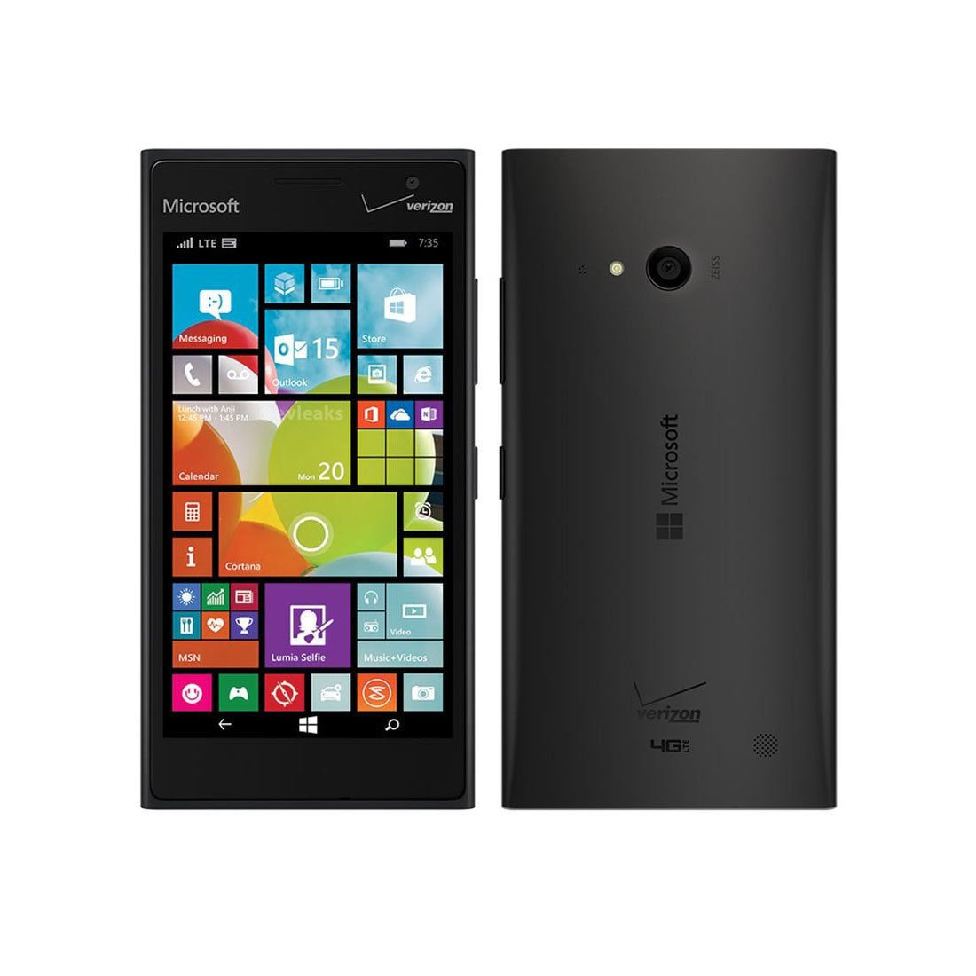Microsoft 735g lumia 16gb verizon wireless 4g lte windows for Window 4g phone