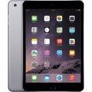 """Apple iPad mini 3 A1600 7.9"""" Retina Display 64GB WiFi + 4G LTE UNLOCKED Tablet Gray"""