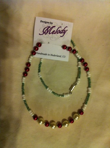 Beaded Holiday Necklace