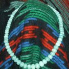 Amazonite Graduated Rondel Necklace