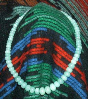 Amazonite Graduated Rondel Necklace