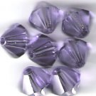 Swarovski Crystal 24 Tanzanite 4mm Bicones 5301