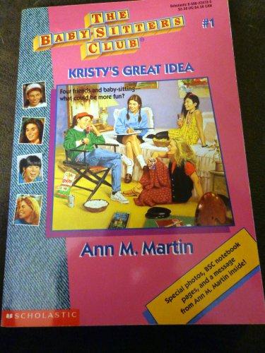 Babysitters Club #1 Kristy's Great Idea - Autographed Copy