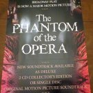 Phantom of the Opera 2004 Double Sided Film Promo Poster Emmy Rossum