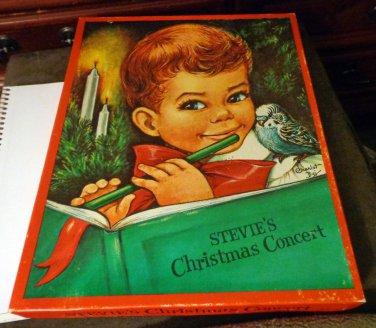 Stevie's Christmas Concert Book � 1971 by Beth Vardon w/Flute