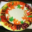 Autumn Themed Plastic/Decorative Plate