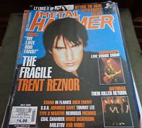 Metal Hammer Magazine Back Issue July 2000 Nine Inch Nails
