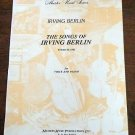 The Songs of Irving Berlin Vol II: 1991 for Voice and Piano