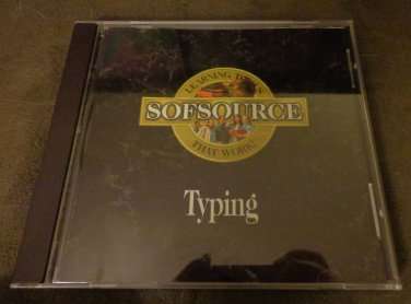 Softsource Typing - Teaching and Improving Typing Skills (CD ROM Software)