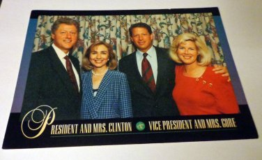 Washington DC Postcard from the Clinton Years