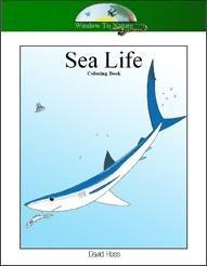 Sea Life Coloring Book CD