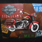 "3D Metal ""Harley Davidson "" Motorcycle Sign for your Shop, Barn or Man Cave"