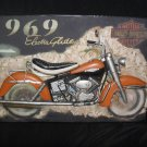 "3D Metal ""Harley Davidon Dyna Glide "" Motorcycle Sign for your Shop,or Man Cave"