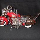 Tin Hand Crafted Indian Motorcycle