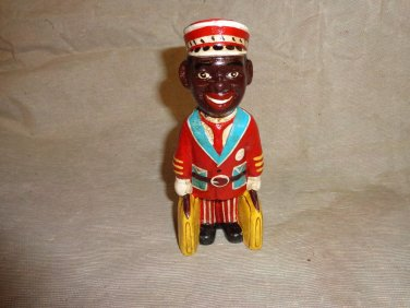 Small Cast Iron Coin Bank of Bellhop