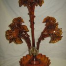 "Glass Epergne 22"" T"