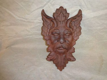 Cast Iron Gothic wall Plaque Hanging Decor