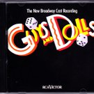 Guys and Dolls by Frank Loesser 1992 CD - Very Good