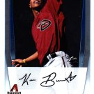 Keon Broxton - Diamond Backs 2011 Crome Baseball Trading Card #BCP42