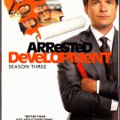 Arrested Development - Season 3 DVD 2009 2-Disc Set - Like New