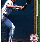 Ellis Burks - Red Sox 1989 Upper Deck Baseball Trading Card #434