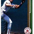 Ellis Burks - Red Sox 1989 Upper Deck Baseball Trading Card #434