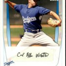 Allen Webster - Dodgers 2011 Bowman Baseball Trading Card #BP89