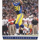 Lance Kendricks - Rams 2013 Score Football Trading Card #174