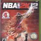 NBA 2K12 Microsoft Xbox 360, 2011 Video Game - Complete - Very Good