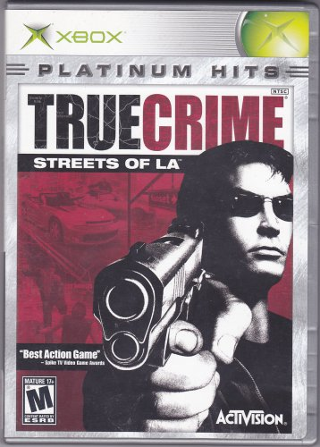 TRUE CRIME - STREETS OF L.A. Microsoft Xbox 2003 Video Game - Complete - Very Good