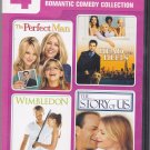 4 Movie Marathon - Romantic Comedy Collection DVD - Like New