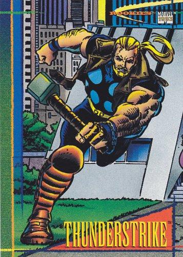 Thunderstrike - 1993 Marvel Comic Trading Card #94
