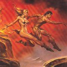 Broad Jump - Boris 1992 Fantasy Art Trading Card #86