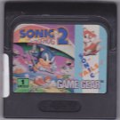 Sonic the Hedgehog 2 Sega Game Gear 1992 Video Game - Good