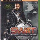 SWAT - Global Strike Team - Xbox 2003 Video Game - Complete - Very Good