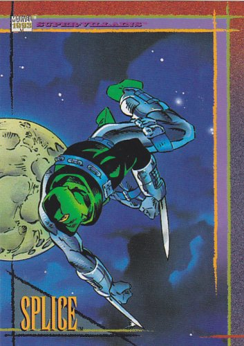 Splice - 1993 Marvel Comic Trading Card #66
