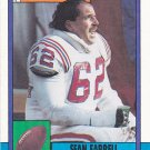 Sean Farrell - Patriots 1990 Topps Football Trading Card #425
