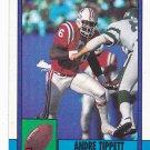 Andre Tippett - Patriots 1990 Topps Football Trading Card #421