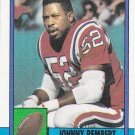 Johnny Rembert - Patriots 1990 Topps Football Trading Card #430