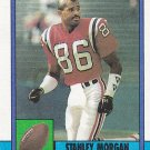 Stanley Morgan - Patriots 1990 Topps Football Trading Card #423