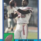 Hart Lee Dykes - Patriots 1990 Topps Football Trading Card #417