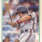Jeff Manto - Indians 1991 Score Baseball Trading Card #337