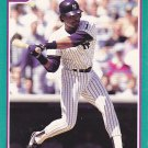 Jesse Barfield - Yankees 1991 Score Baseball Trading Card #148