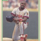 Pete Coachman - Angels 1991 Score Baseball Trading Card #344
