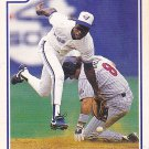 Tony Fernandez - Blue Jays 1991 Score Baseball Trading Card #432