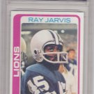 Ray Jarvis - Graded - FGS 10 MINT - 1978 Topps Football Card #467