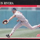 Luis Rivera - Red Sox 1991 Score Baseball Trading Card #271