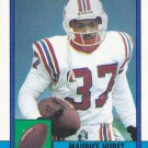 Maurice Hurst - Patriots 1990 Topps Football Trading Card #429