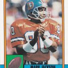 Mark Jackson - Broncos 1990 Topps Football Trading Card #41